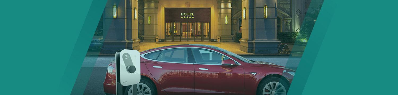 Φόρτιση ηλεκτρικών αυτοκινήτων σε ξενοδοχεία