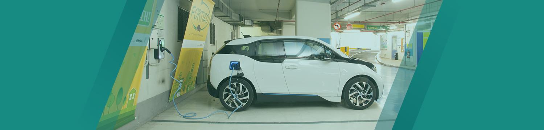 Φόρτιση ηλεκτρικών αυτοκινήτων σε parking